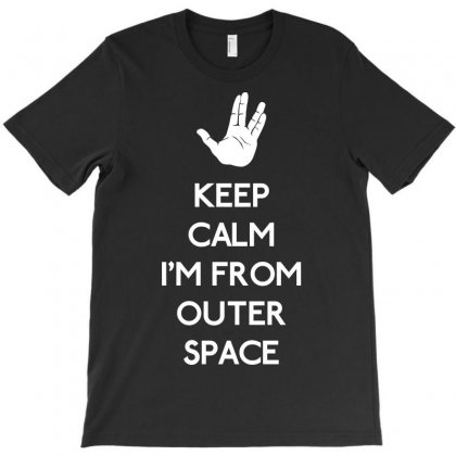 Keep Outer Space T-shirt Designed By Karlangas