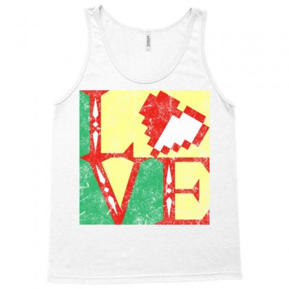 Link's Heart Tank Top Designed By Karlangas