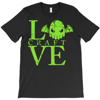 Love Craft T-shirt Designed By Karlangas