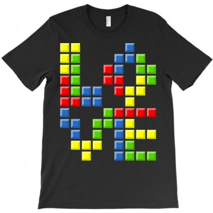 Love Puzzles T-shirt Designed By Karlangas