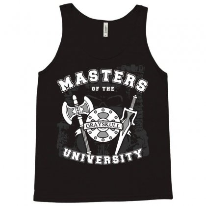 Masters Of The University Tank Top Designed By Karlangas