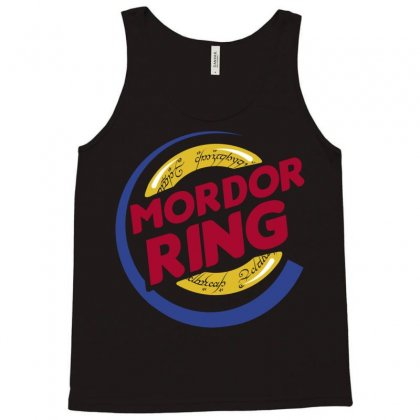 Mordor Ring Tank Top Designed By Karlangas