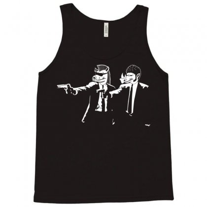 Mutant Fiction Tank Top Designed By Karlangas