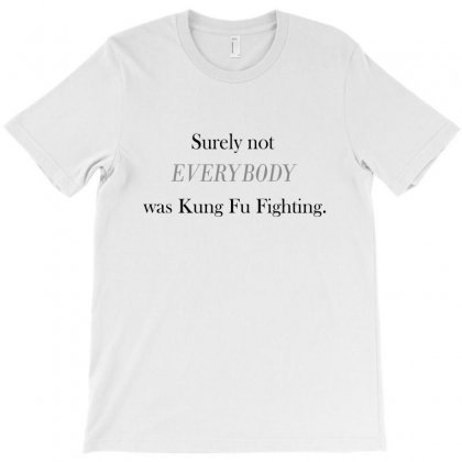 Kung Fu Fighting T-shirt Designed By Blackacturus