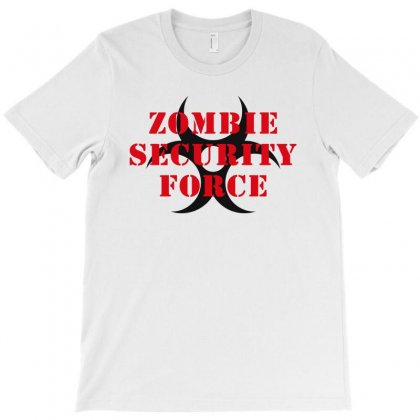 Zombie Security Force T-shirt Designed By Akin