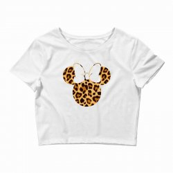 Minnie Mouse Leopard Crop Top | Artistshot