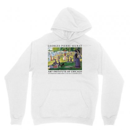 Georges Pierre Seurat A Sunday Afternoon On The Island Of La Grande Ja Unisex Hoodie Designed By Akin