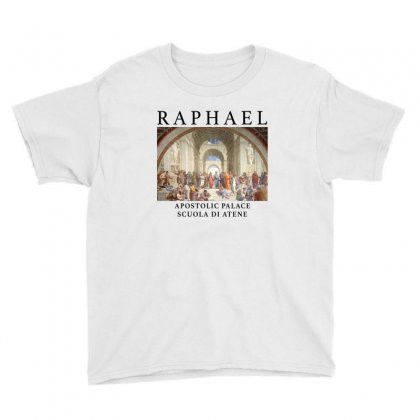 Raphael Scuola Di Atene Youth Tee Designed By Akin
