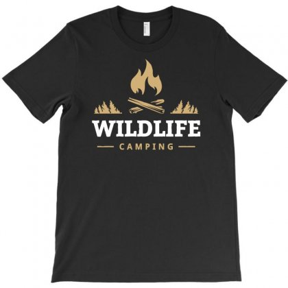 Wildlife Camping T-shirt Designed By Bigdlab