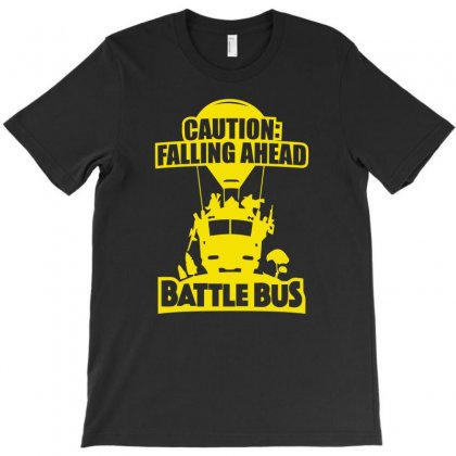 Battle Bus Victory Royale T-shirt Designed By Aheupote