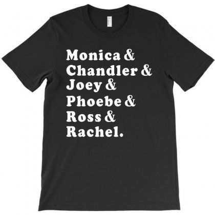 Friends Tv Show T-shirt Designed By Bigdlab