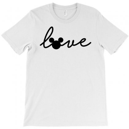 Love Disney T-shirt Designed By Bigdlab