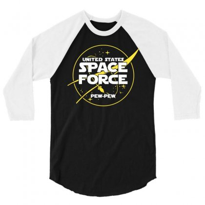 United States Space Force 3/4 Sleeve Shirt Designed By Cosby