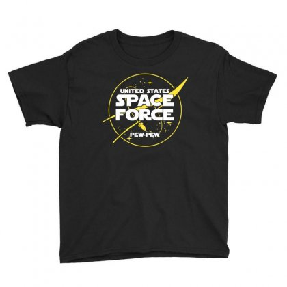 United States Space Force Youth Tee Designed By Cosby