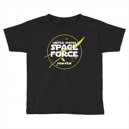United States Space Force Toddler T-shirt Designed By Cosby