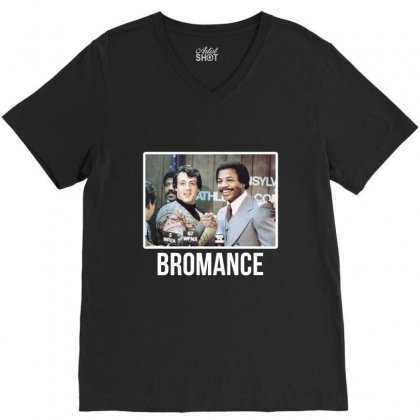 Bromance V-neck Tee Designed By Artistshotf1