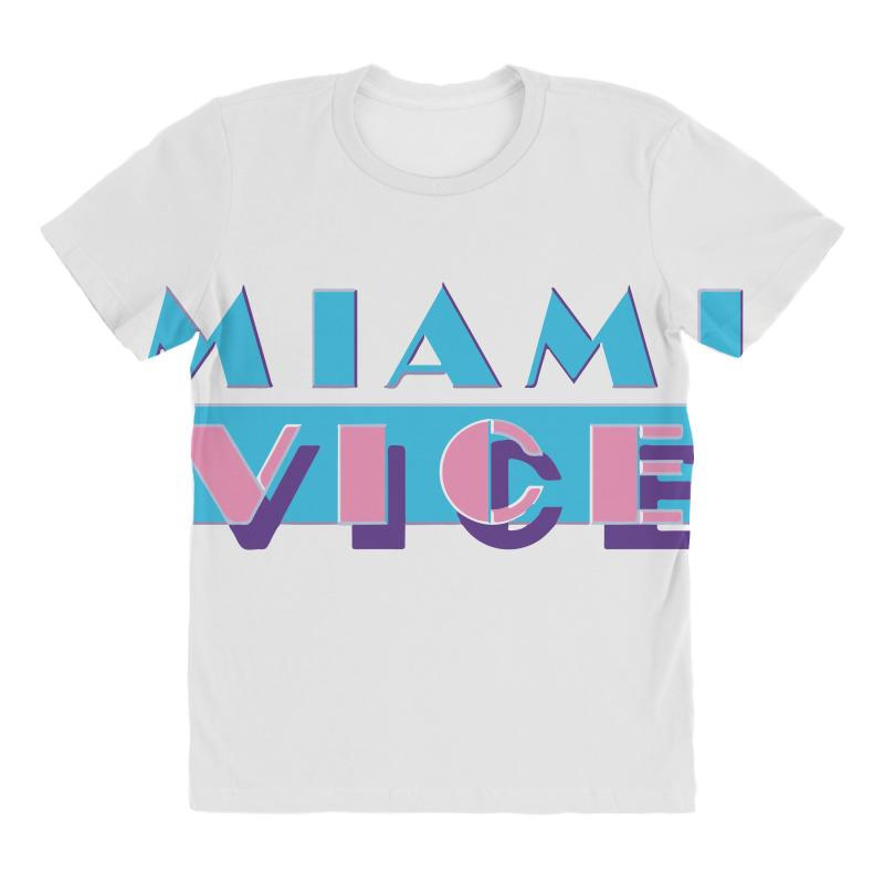 Miami Vice All Over Women's T-shirt | Artistshot