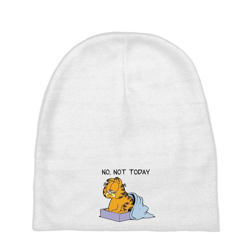 9d4e3d2d0bd Custom No, Not Today Baby Beanies By Artistshotf1 - Artistshot