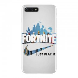 Just Play It Fortnite iPhone 7 Plus Case | Artistshot