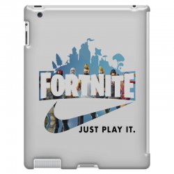Just Play It Fortnite iPad 3 and 4 Case | Artistshot