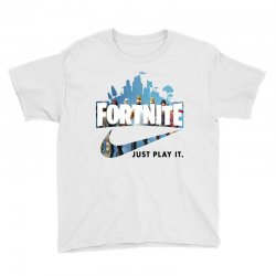 Just Play It Fortnite Youth Tee | Artistshot