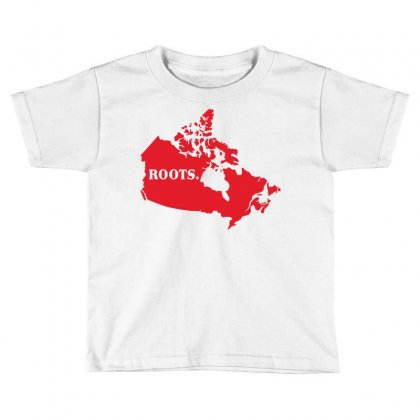 Canada Continent Roots Toddler T-shirt Designed By Sengul