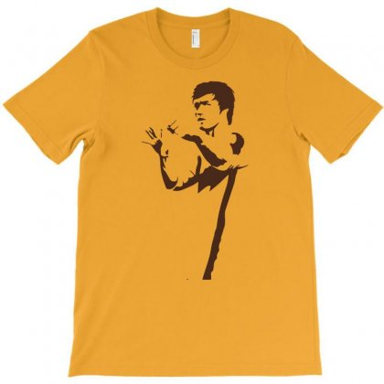 Bruce Lee T-shirt Designed By Artistshotf1