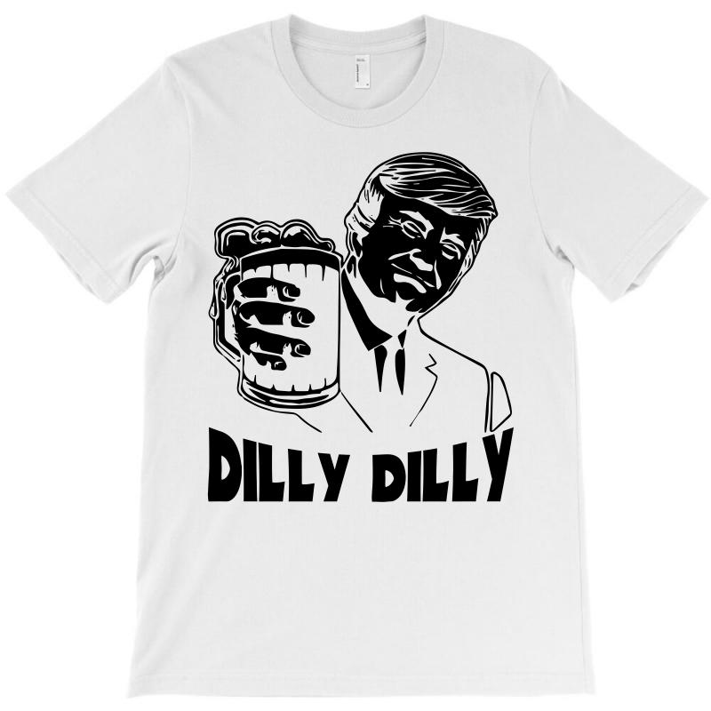3009287e Custom Donald Trump Bud Light Official Dilly Dilly (black) T-shirt ...