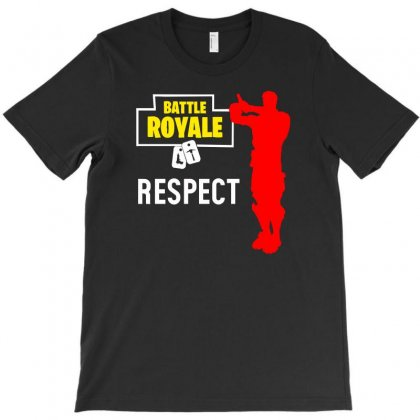 Respect Batle Royal Gaming T-shirt Designed By Aheupote