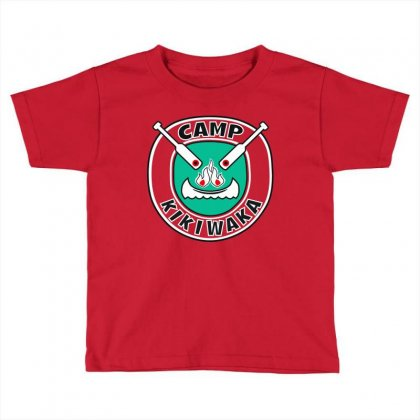Kikiwaka Red Tshirt Toddler T-shirt Designed By The Changcuterz