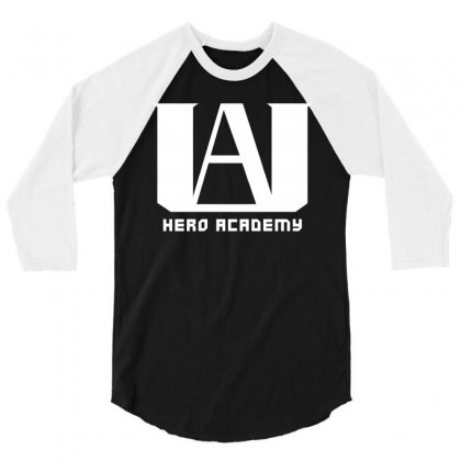 Hero Academy 3/4 Sleeve Shirt Designed By Akin