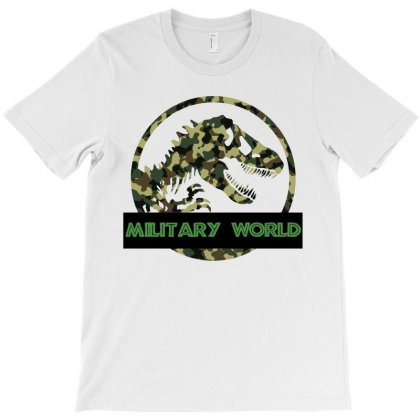 Military Morld T-shirt T-shirt Designed By Zeynepu