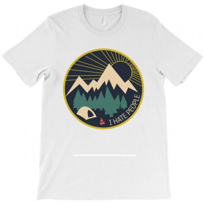 I Hate People Camping Lovers T-shirt Designed By Wizarts