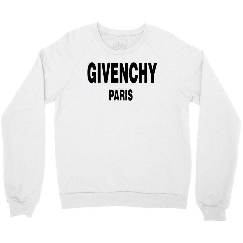 02b83972f5 Custom Givenchy Paris Black Logo Crewneck Sweatshirt By Meza Design ...