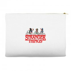 stranger things new logo Accessory Pouches | Artistshot
