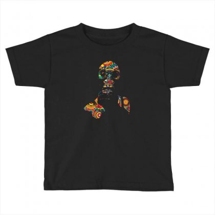 Gas Mask Toddler T-shirt Designed By Artistshotf1