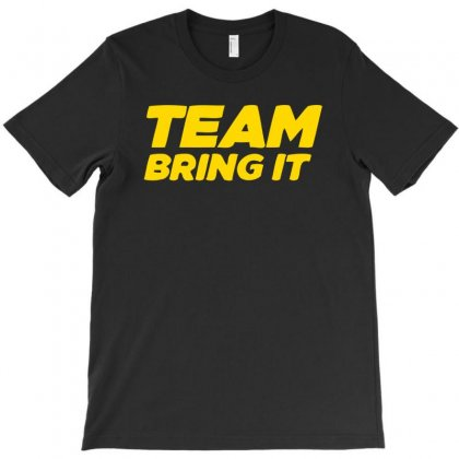Team Bring It Boots To Asses The Rock T-shirt Designed By Satrio Art