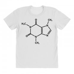 Caffeine Molecule All Over Women's T-shirt | Artistshot