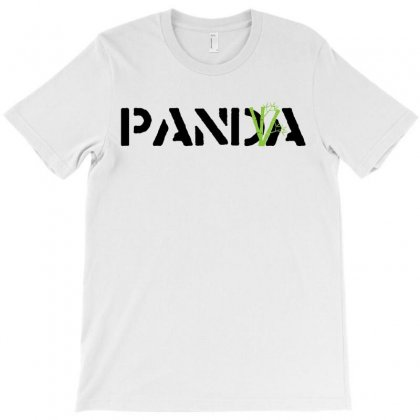 Panda Write T-shirt T-shirt Designed By Nurbetulk