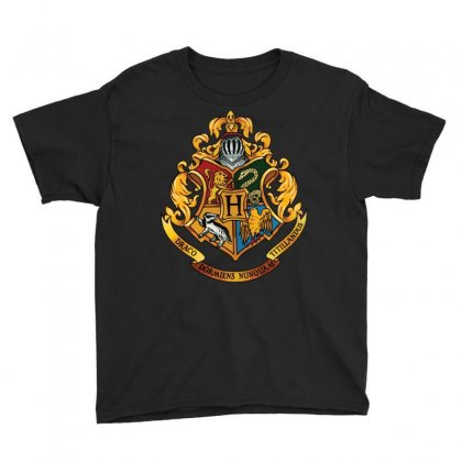Hogwarts Logo T-shirts Youth Tee Designed By Nurbetulk