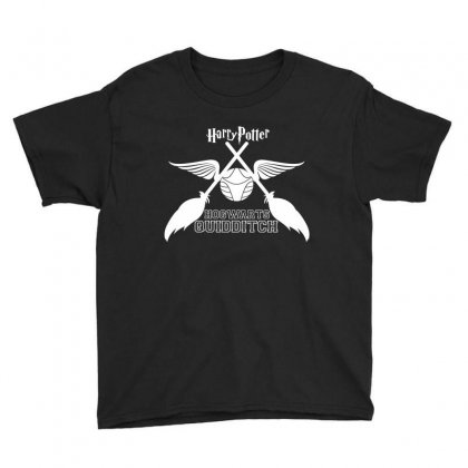 Harry Potter Quidditch T-shirt Youth Tee Designed By Nurbetulk