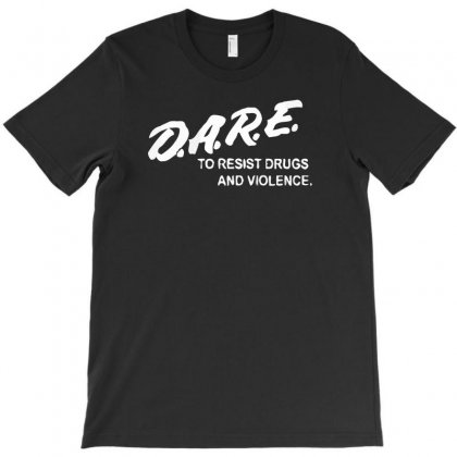 To Resist Drugs And Violence T-shirt Designed By Satrio Art
