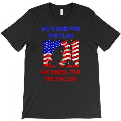 We Stand For The Flag T-shirt Designed By Satrio Art