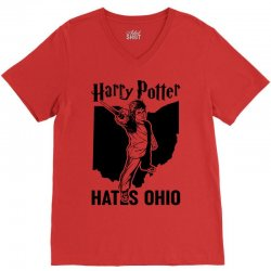 Harry Potter Hates Ohio V-Neck Tee | Artistshot