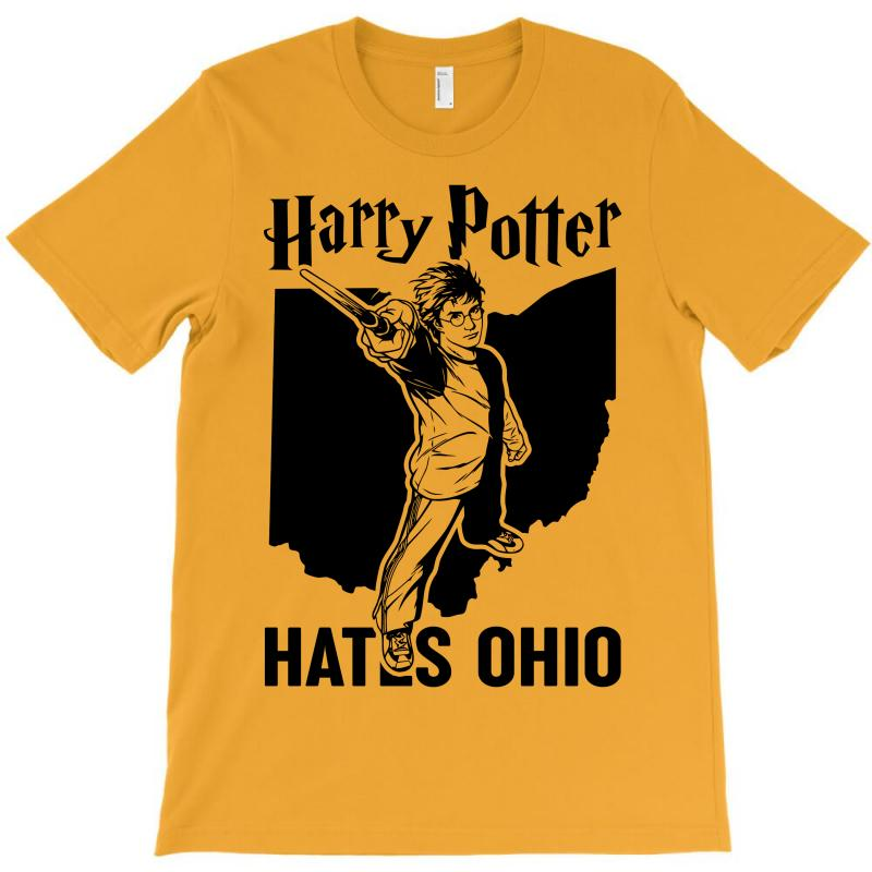Harry Potter Hates Ohio T-shirt | Artistshot