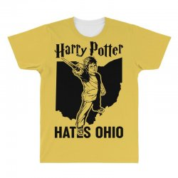 Harry Potter Hates Ohio All Over Men's T-shirt | Artistshot