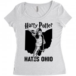 Harry Potter Hates Ohio Women's Triblend Scoop T-shirt | Artistshot