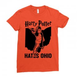Harry Potter Hates Ohio Ladies Fitted T-Shirt | Artistshot