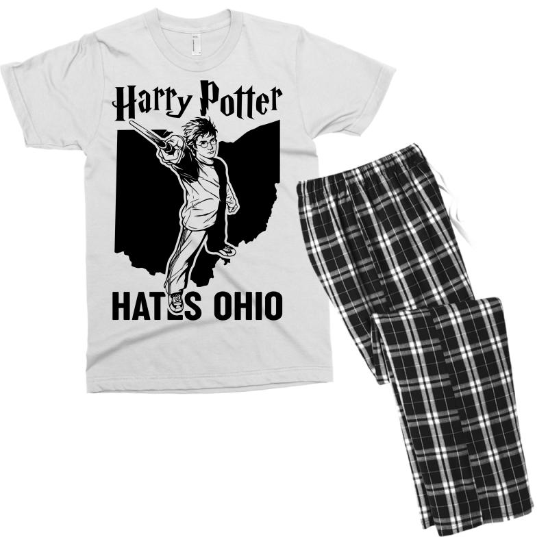 Harry Potter Hates Ohio Men's T-shirt Pajama Set | Artistshot