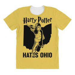 Harry Potter Hates Ohio All Over Women's T-shirt | Artistshot